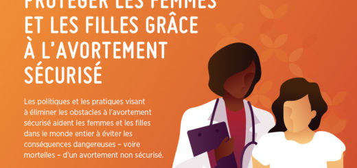 l'avortement non sécurisé est un danger pour les filles et les femmes