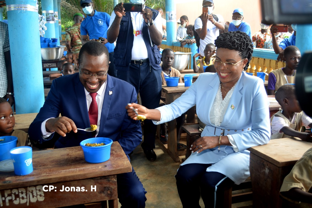 Angeline Ndayishimiye lors de sa visite facilitée par le Cerfam