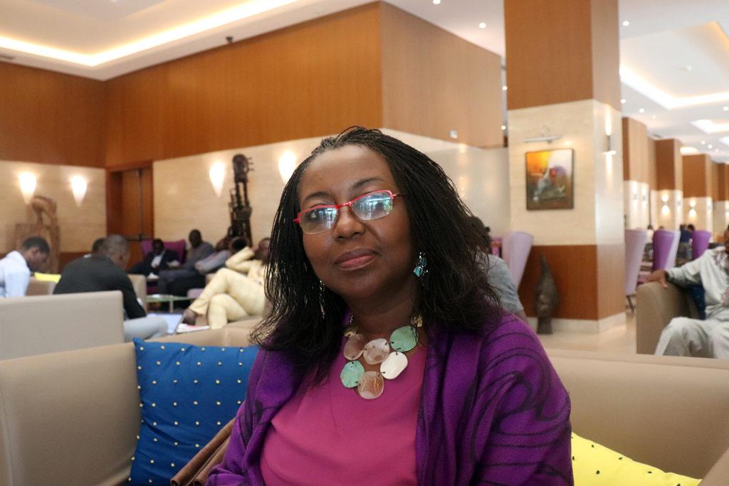 Huguette Gnacadja secrétaire executive institut national de la femme